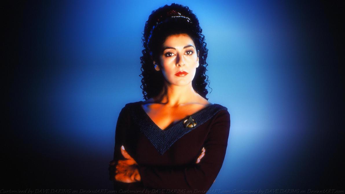 Marina Sirtis Troi III by Dave-Daring