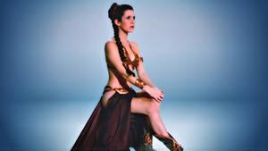 Carrie Fisher Slave Girl Princess IX
