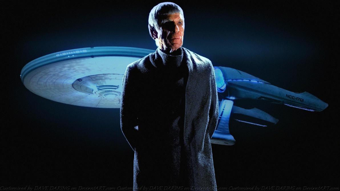 Leonard Nimoy Spock Prime by Dave-Daring