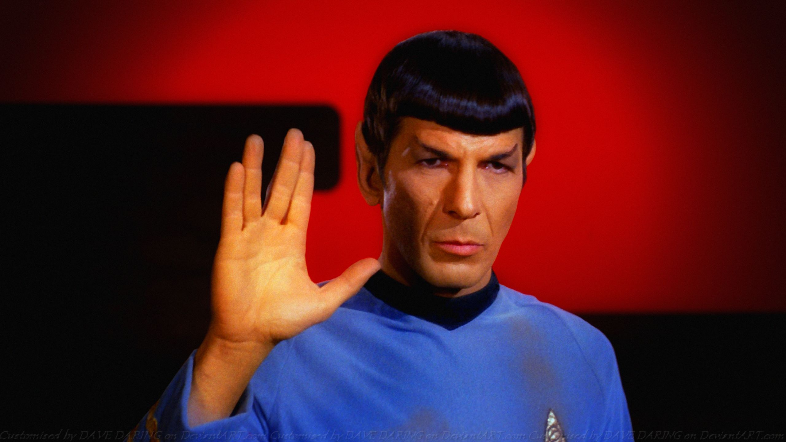 Spock Quotes Live Long And Prosper: Leonard Nimoy Spock VI By Dave-Daring On DeviantArt