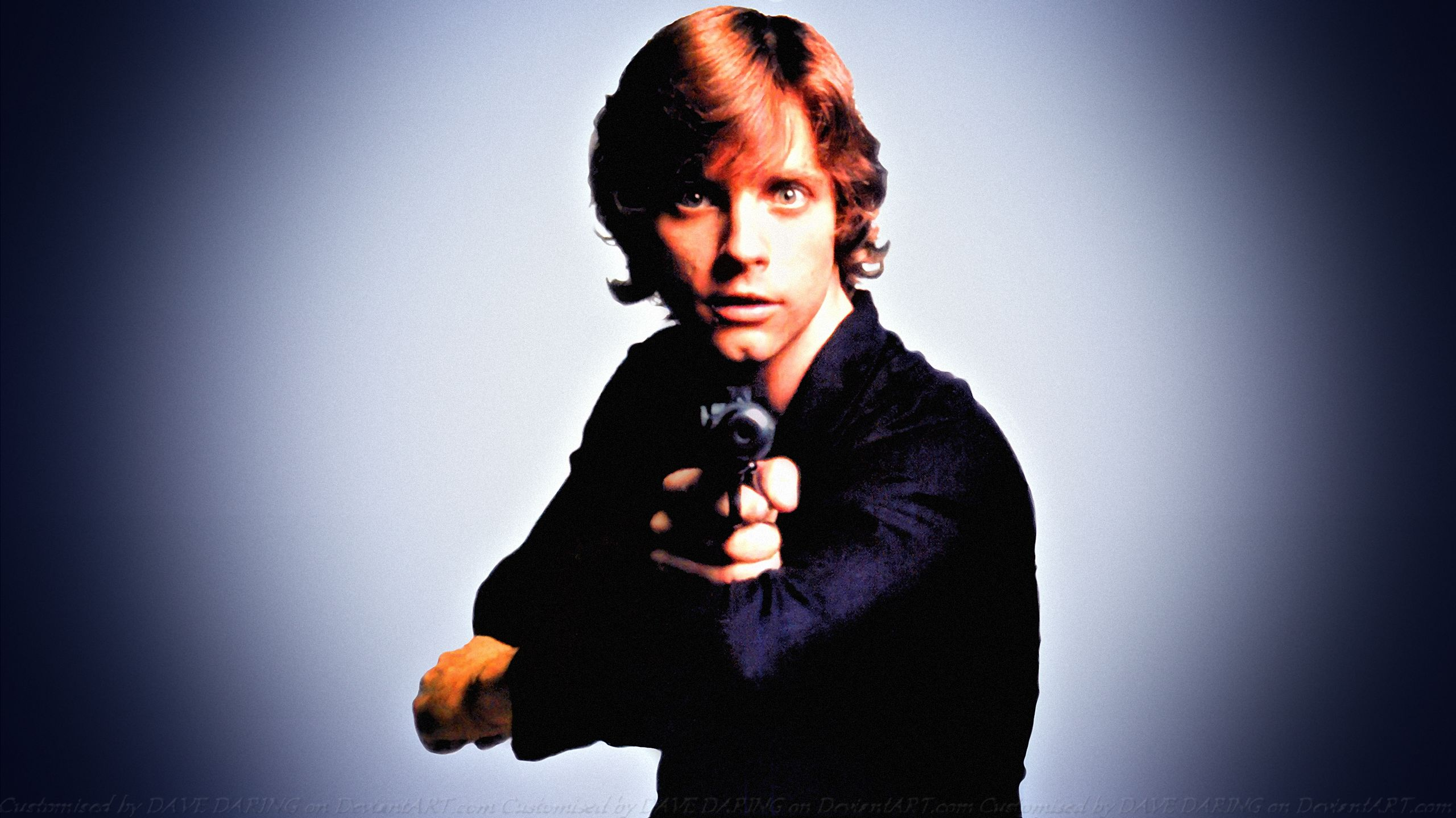 Mark Hamill Skywalker Jedi Knight III by Dave-Daring