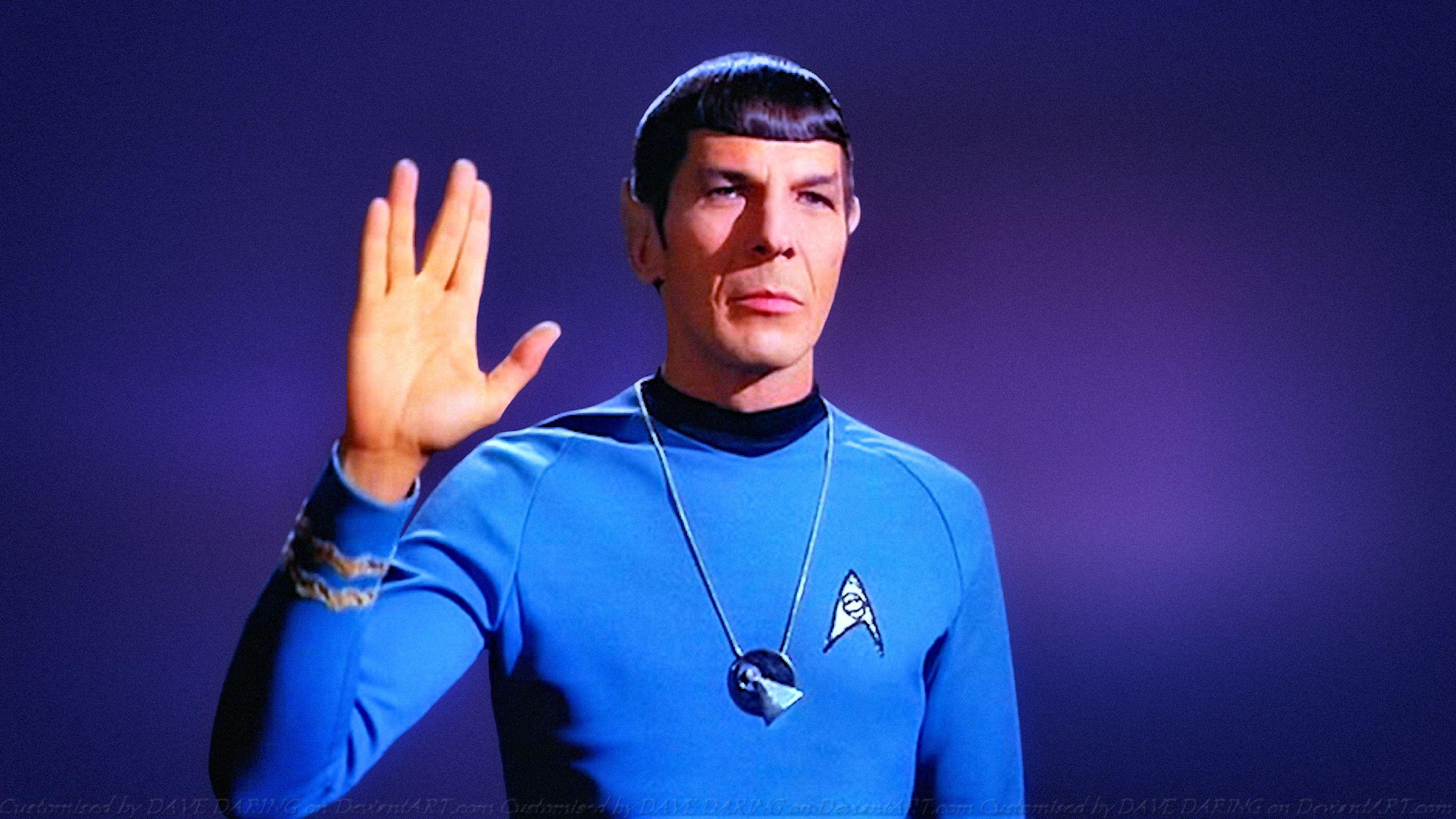 Leonard Nimoy Spock XI by Dave-Daring