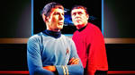 Spock and Scotty by Dave-Daring