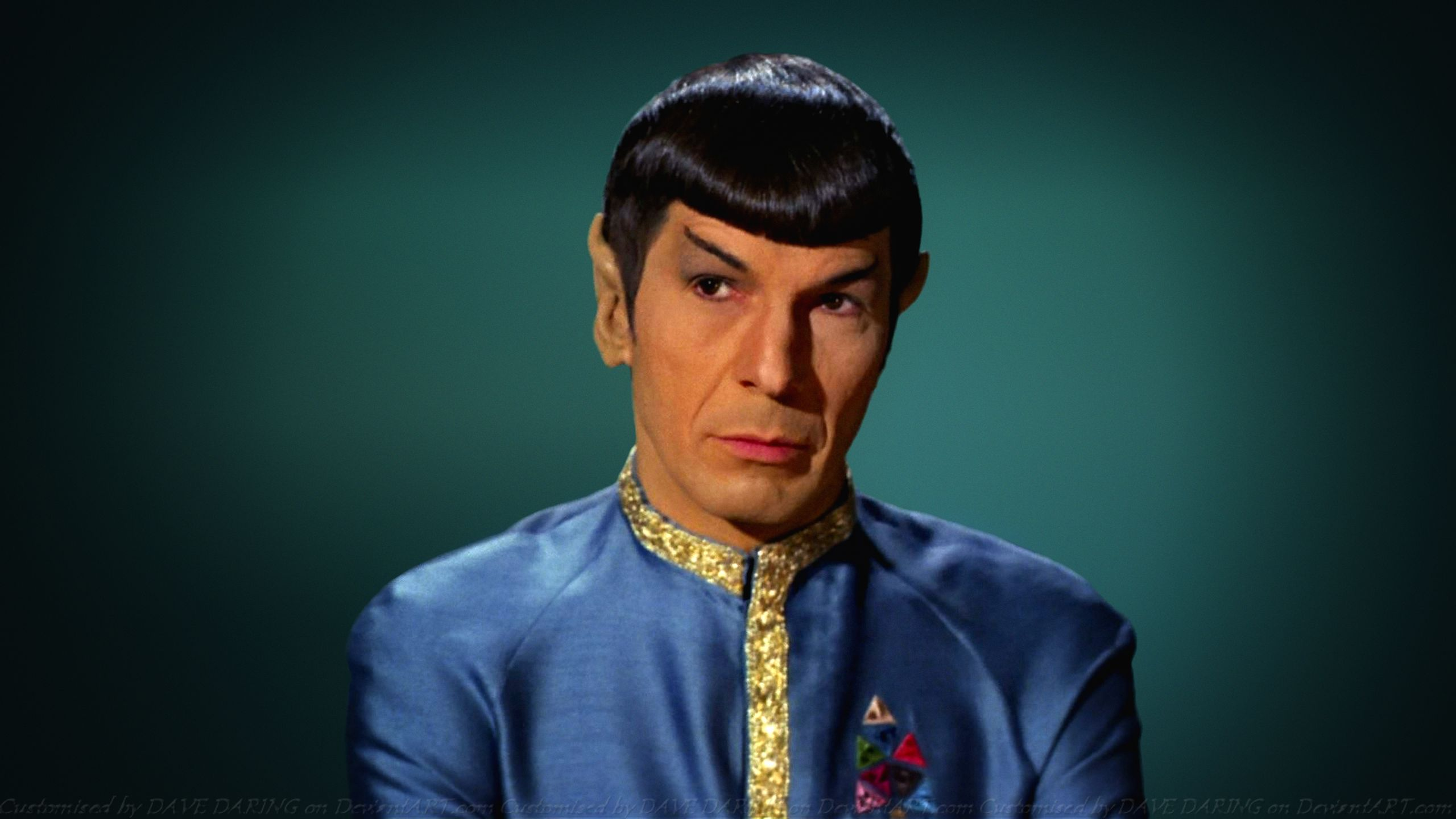 Leonard Nimoy Spock XII by Dave-Daring