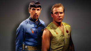 Spock and Kirk Mirror Mirror