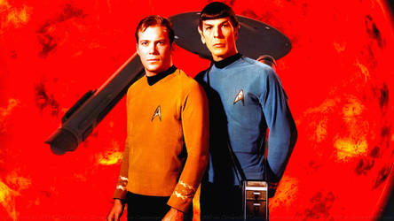 Spock and Kirk IV by Dave-Daring