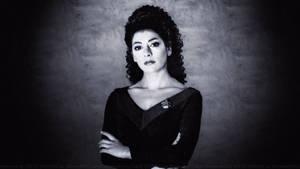 Marina Sirtis Troi VI by Dave-Daring