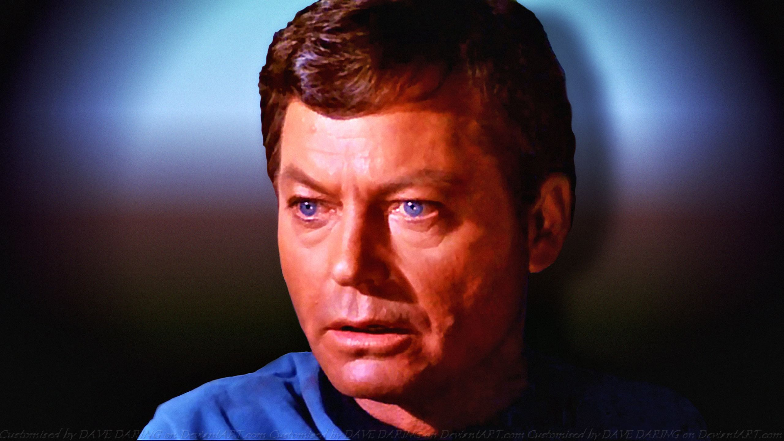 deforest kelley western