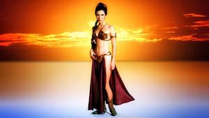 Carrie Fisher Slave Girl Princess IIA