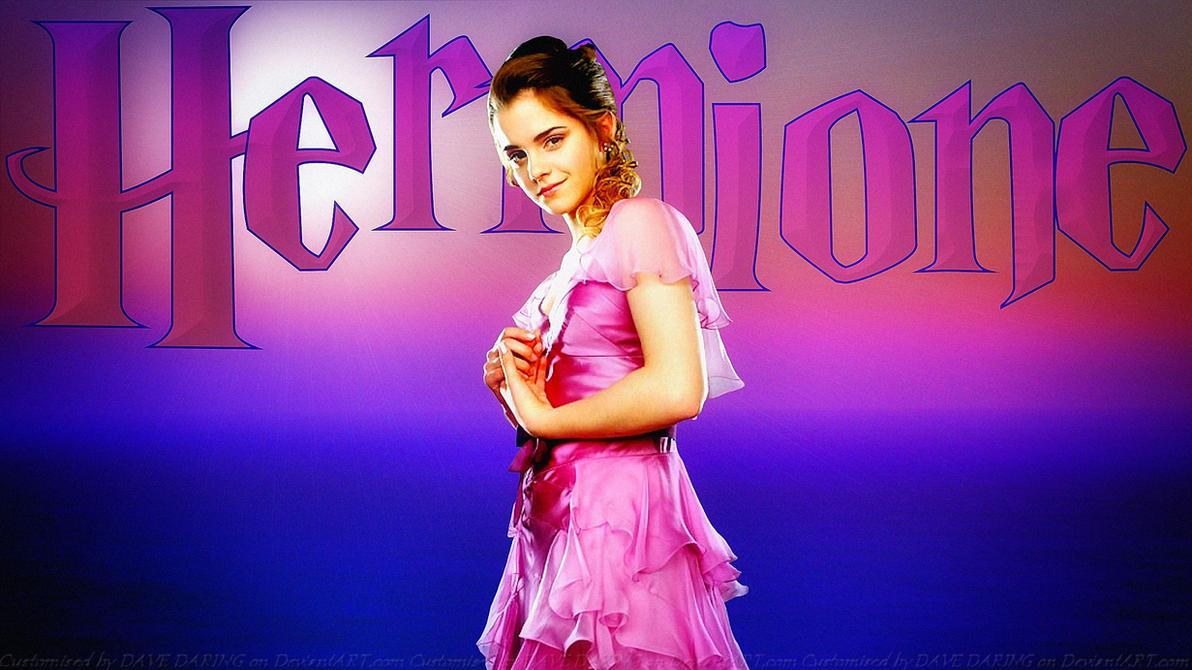 Emma Watson  Hermione by Dave-Daring