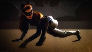 Anne Hathaway Cat Woman VII