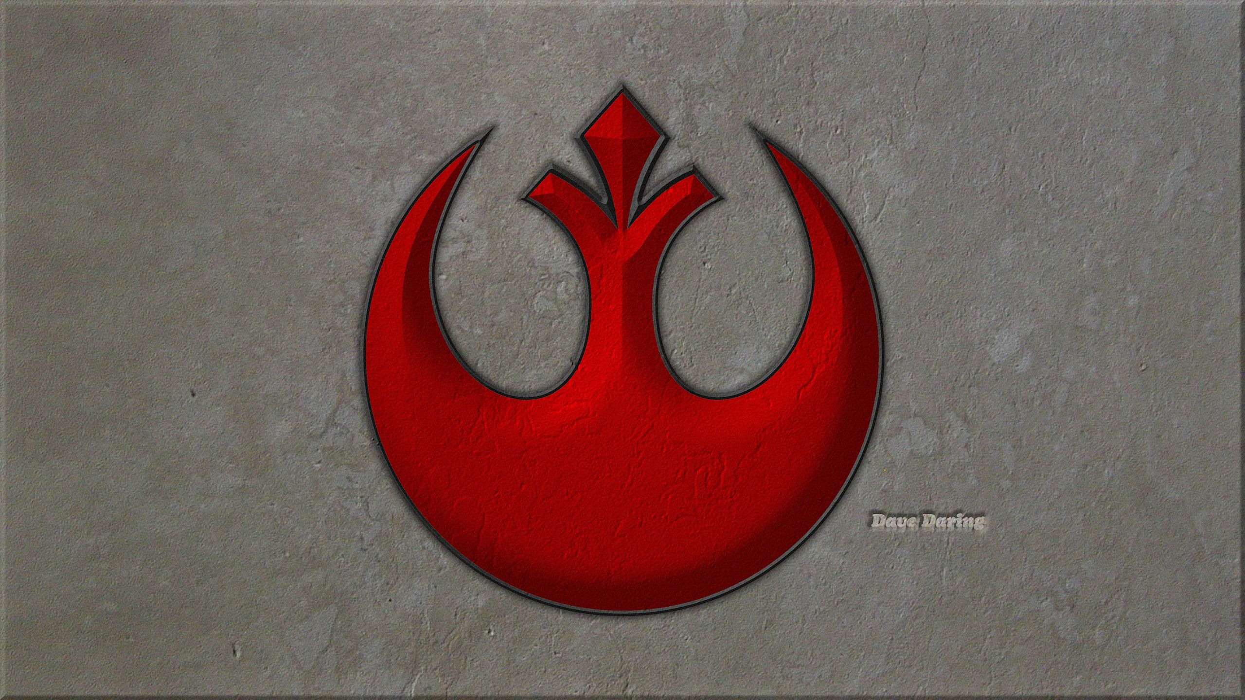 Rebel Alliance Starbird Symbol By Dave Daring