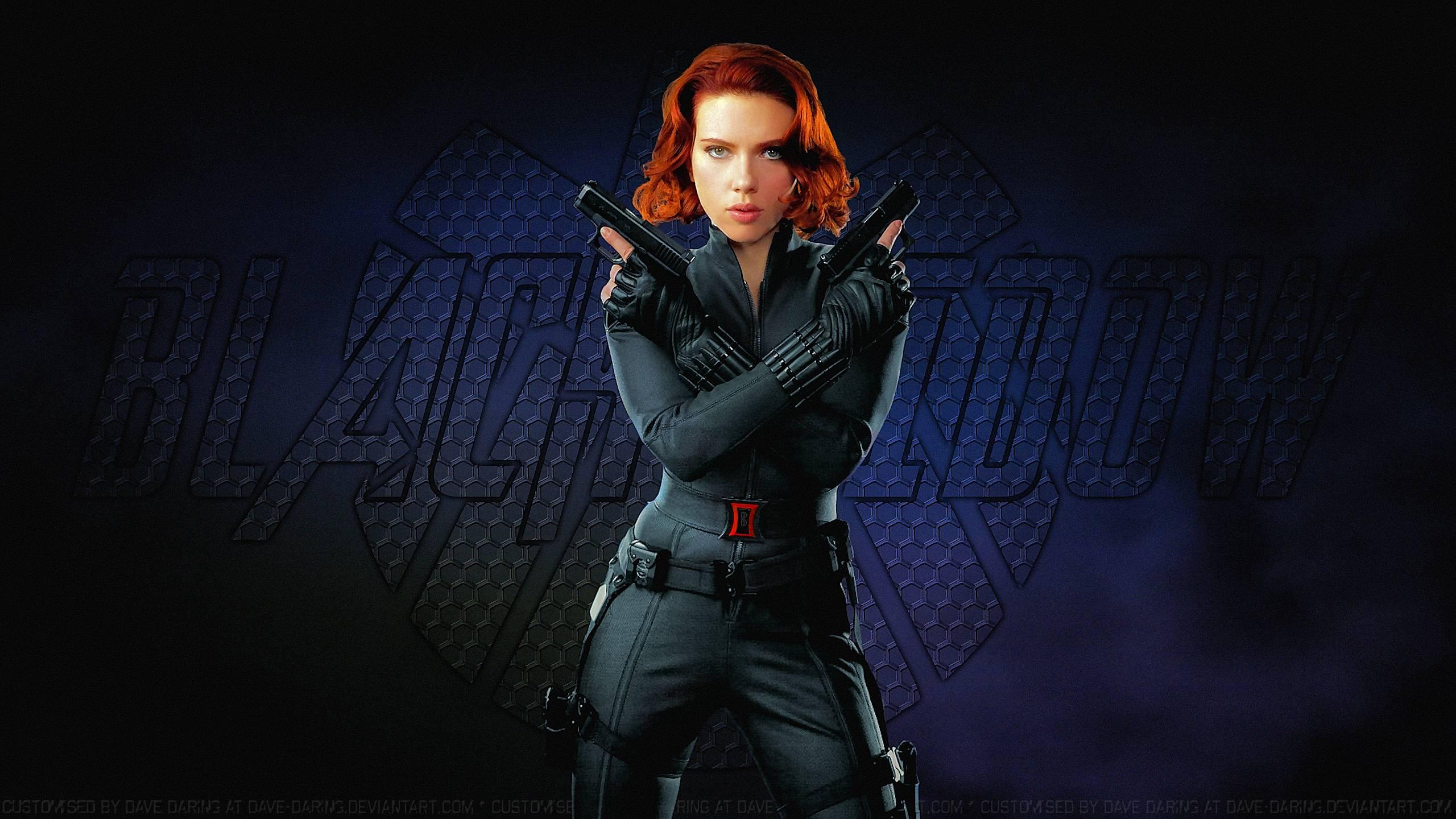 Scarlett Johansson Black Widow XXIII by Dave-Daring