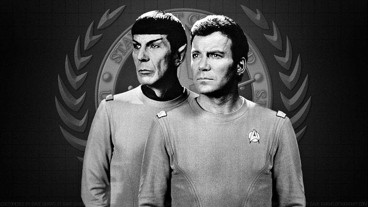 Spock and Kirk VI by Dave-Daring