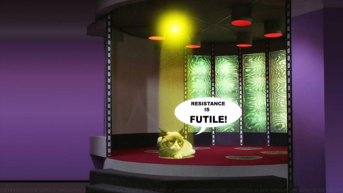 Grumpy Cat of Borg by Dave-Daring