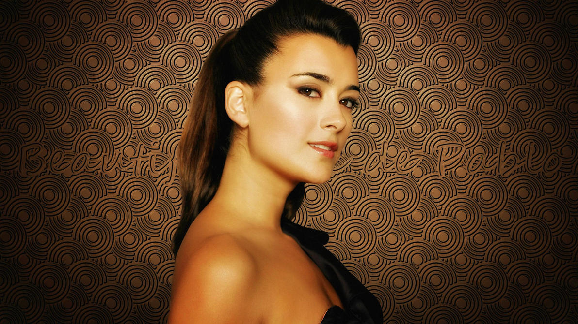 Beauty with fake cote de pablo wallpapers