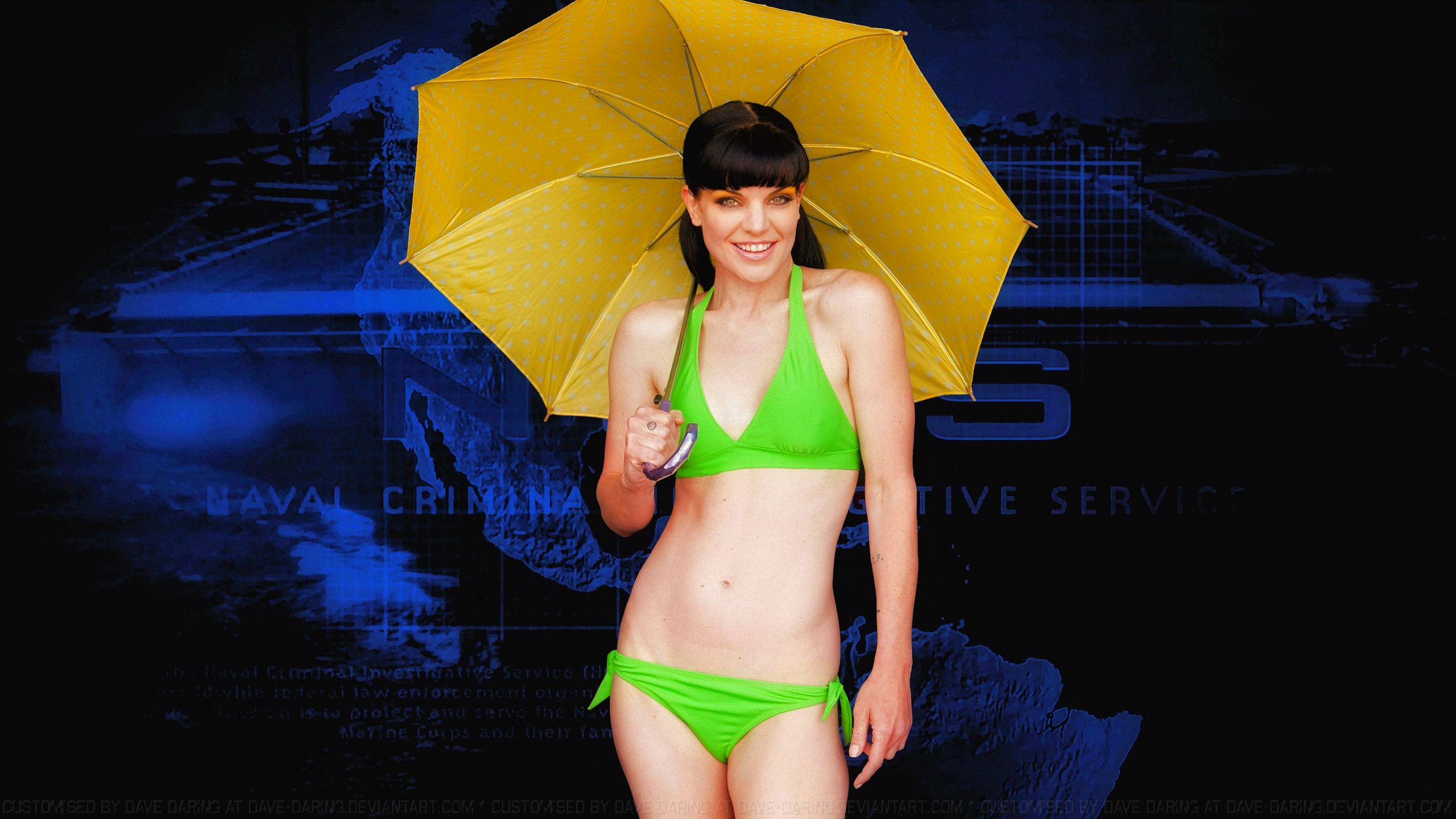 Pauley Perrette In A Bikini 24