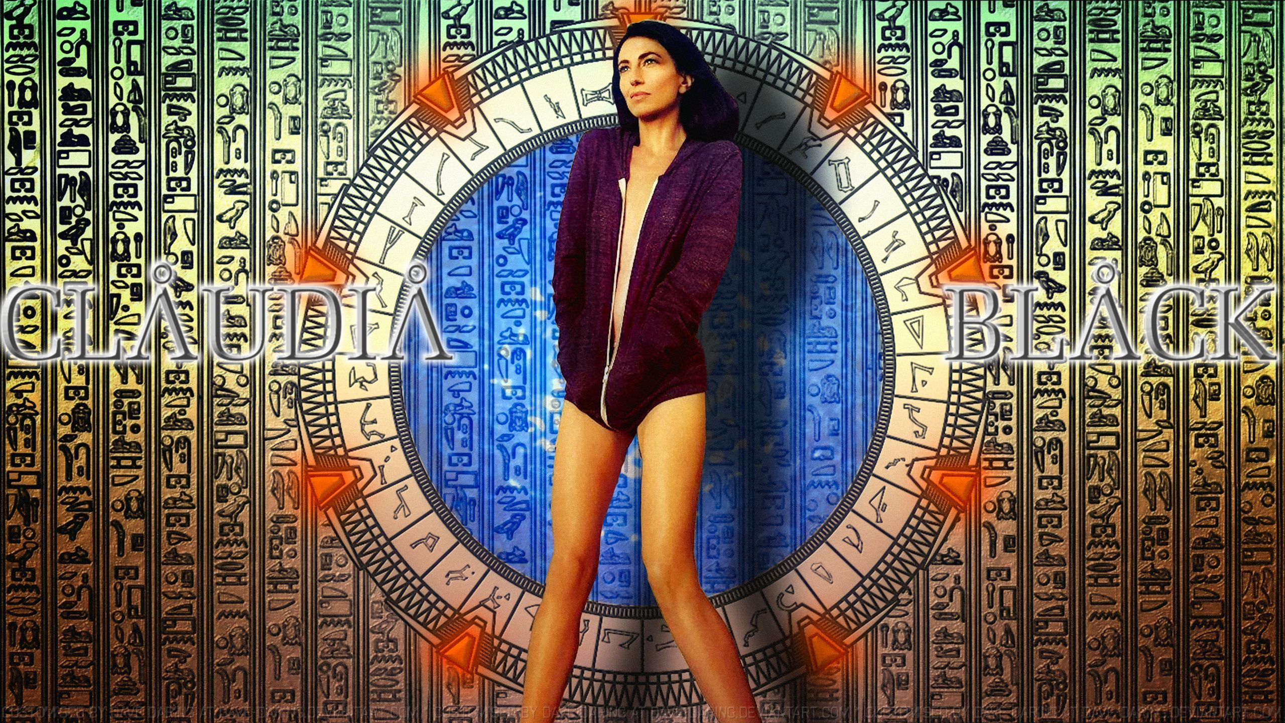 claudia Black Stargate Skimpy by Dave-Daring on DeviantArt