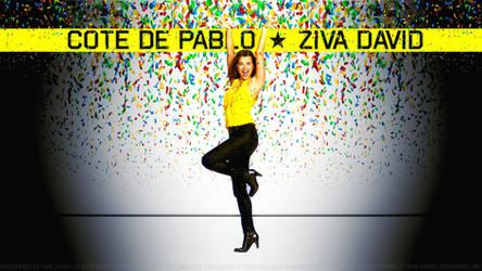 Cote De Pablo Party by Dave-Daring