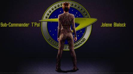 Jolene Blalock Sub Commander T'Pol by Dave-Daring