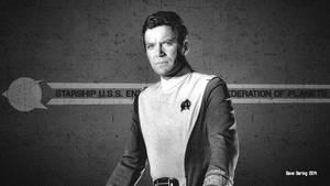 William Shatner Admiral Kirk IV