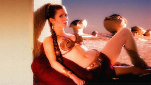 Carrie Fisher Princess Leia L by Dave-Daring