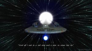 USS Enterprise, A Tall Ship