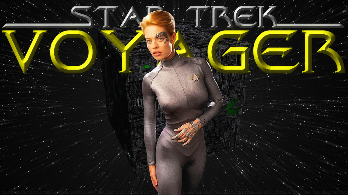 Jeri Ryan Seven of Nine XII The Cube by Dave-Daring