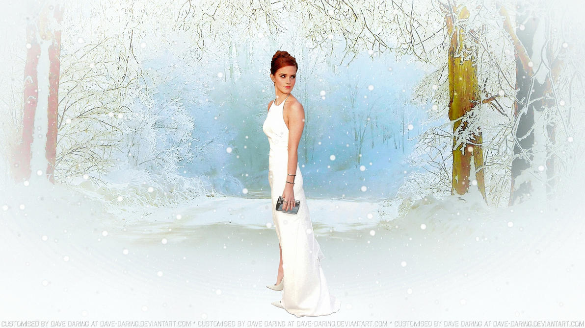 Emma Watson Snow Queen IV V3 by Dave-Daring