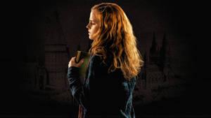 Emma Watson Deathly Hallows (Paint)