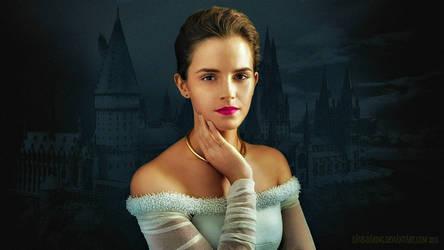 Emma Watson Portrait (Paint) by Dave-Daring