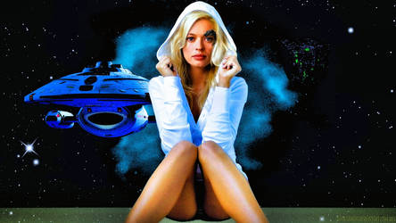 Jerri Ryan Seven of Nine XV Paint by Dave-Daring