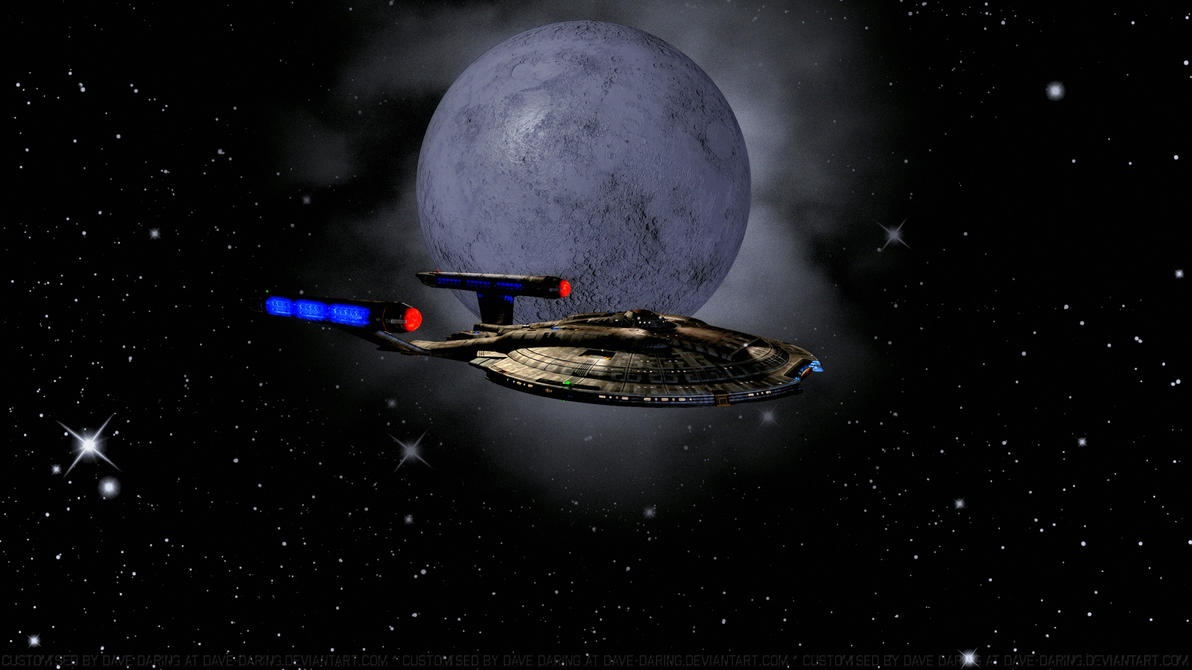 NX-01 and The Dark Moon by Dave-Daring