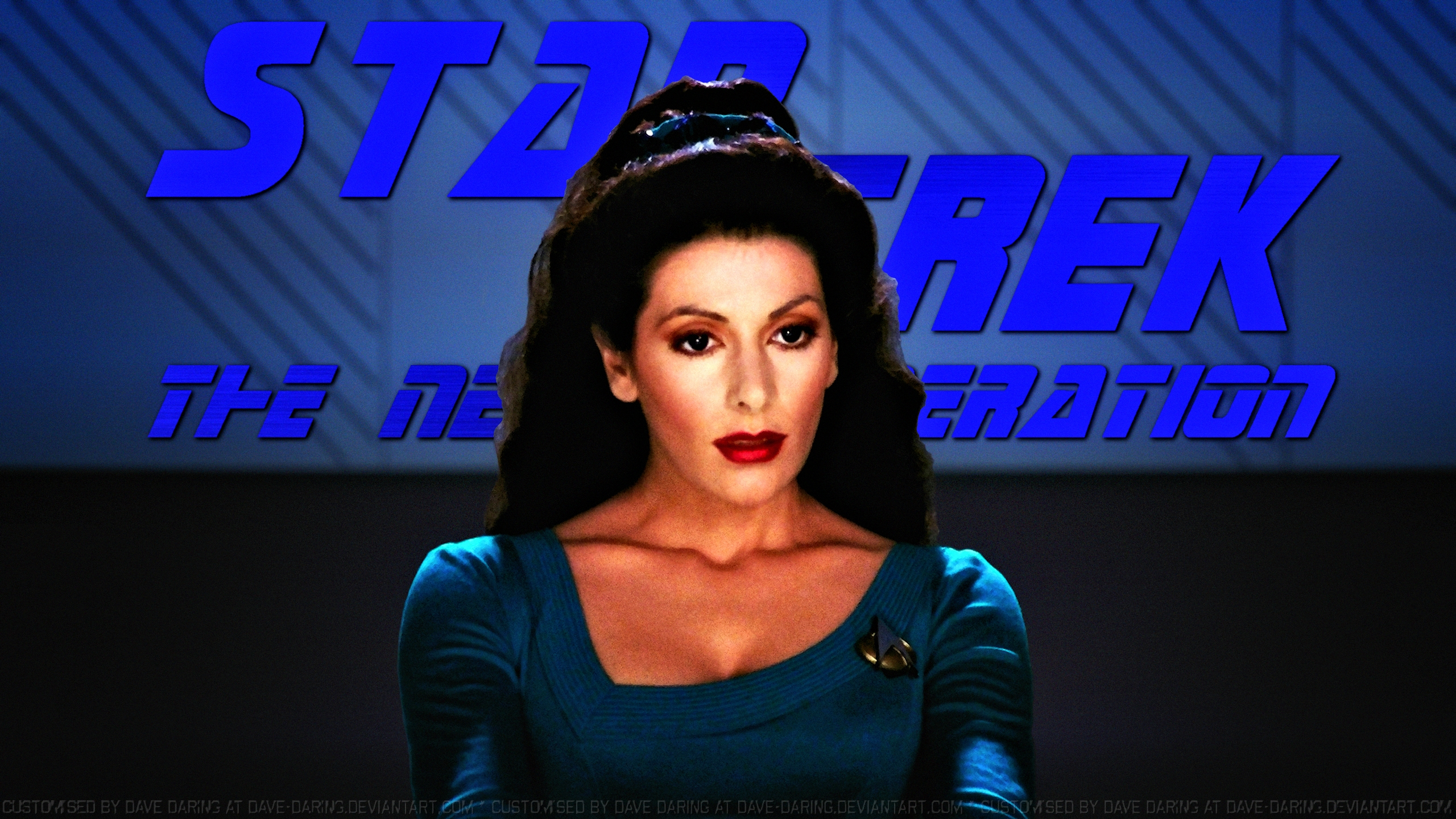 Authentic Pop Collectibles - Marina Sirtis Autographed 8?10 Star ...