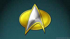 Comm Badge Science Medical Teal