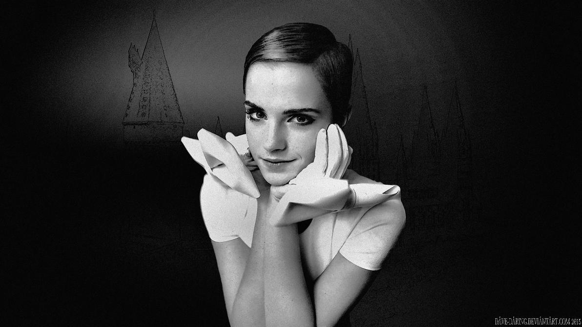 Emma Watson Pixie Portrait by Dave-Daring
