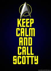 Star Trek Call Scotty by Dave-Daring