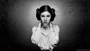 Carrie Fisher Princess Leia Paint
