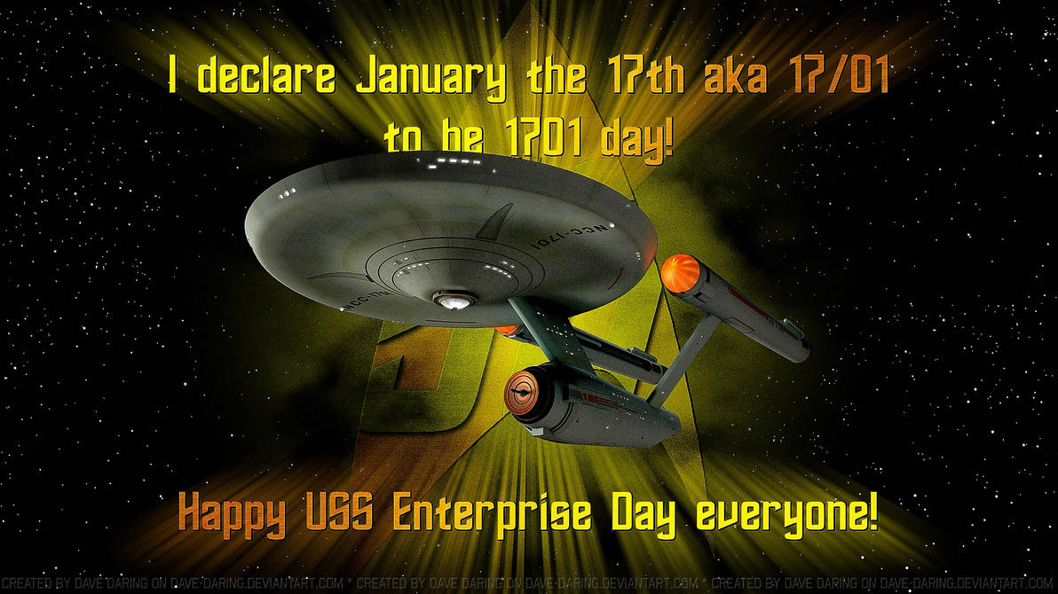 Happy Enterprise Day by Dave-Daring