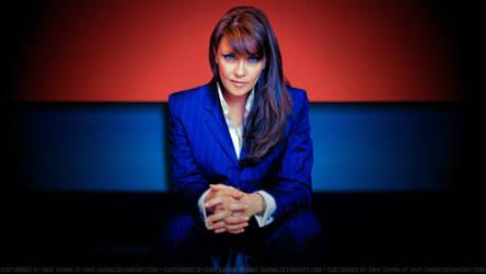 Amanda Tapping Boss Lady