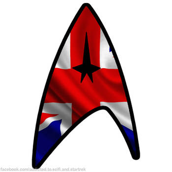 Star Trek Union flag by Dave-Daring