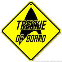 Trekkie on board
