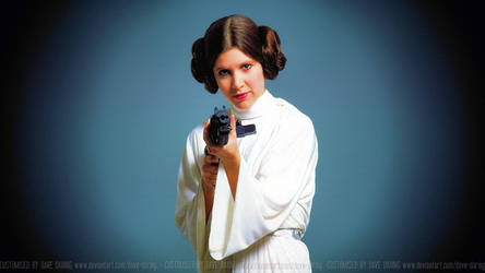 Carrie Fisher Princess Leia XLIX