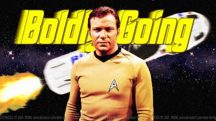 William Shatner Boldly Blue-ing