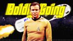 William Shatner Boldly Blue-ing by Dave-Daring