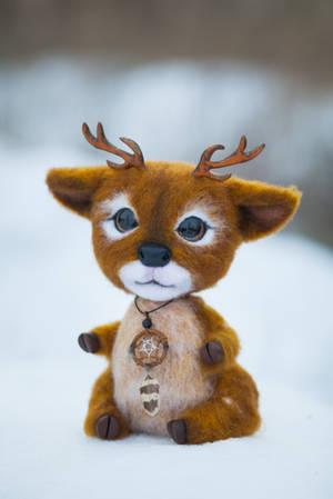 Deer named Elian by Lyntoys
