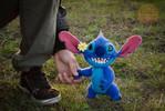 Stitch needlefelting sculpture 2 by Lyntoys