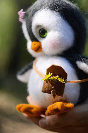Lily needlefelting toy 2 by Lyntoys