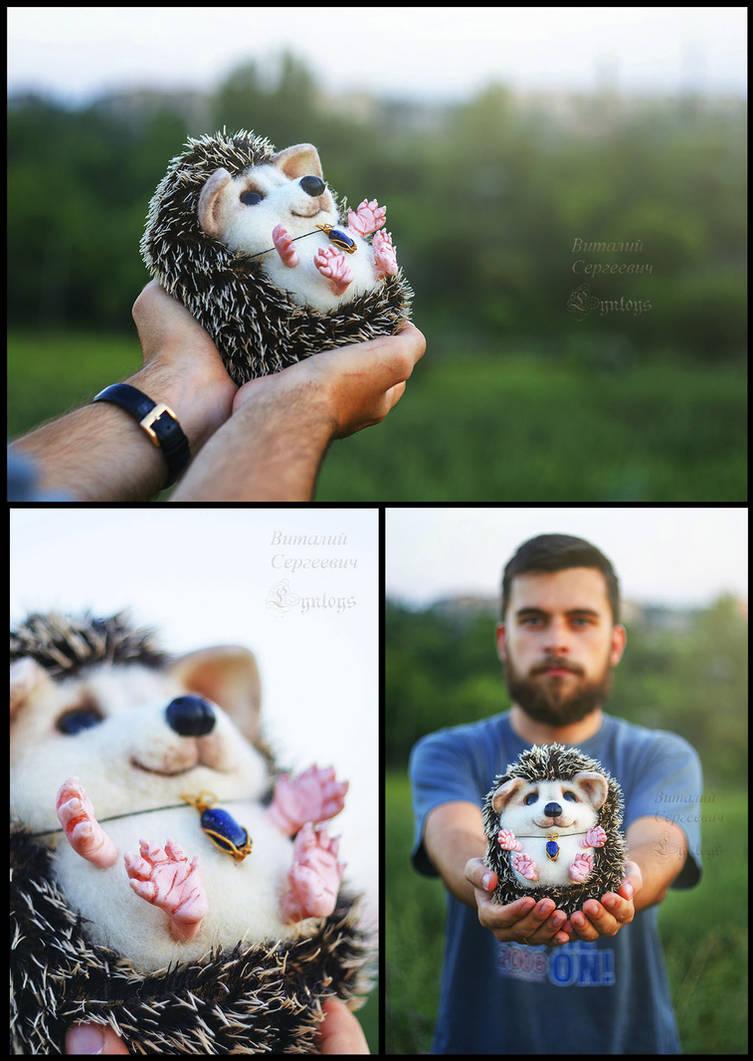Hedgehog Yasha by Lyntoys