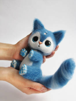 Author toy Needle Felted Calvin 3 of 7
